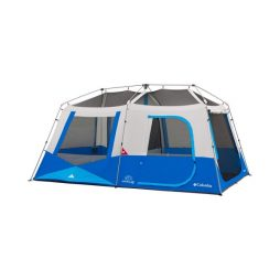 אוהל בן רגע גדול Fall River 8 Person Instant Cabin