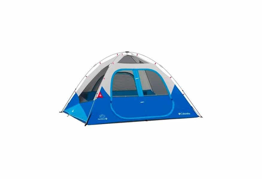 אוהל בן רגע Columbia Fall River 6 Person Instant Dome